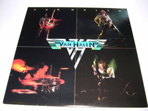 Van Halen - Van Halen (1978) 1er album LP vinyl HEAVY ROCK