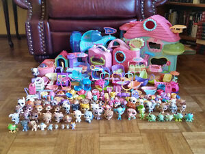 Huge LPS Littlest Pet Shop lot - EUC