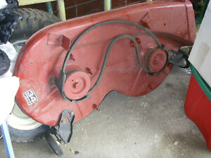 34 inch riding lawnmower deck Excellent shape