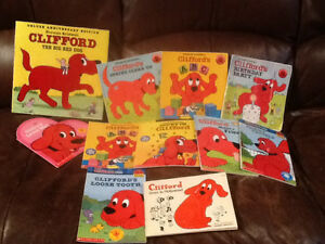 Clifford books in great condition!
