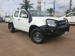 2017 ISUZU DMAX SX CREW CAB 4X4 MANUAL TRAYBACK Webberton Geraldton City Preview