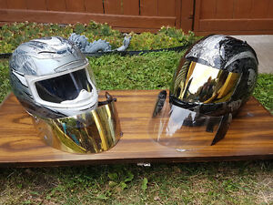 Like New motorcycle helmets