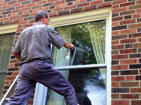 ACCURATE WINDOW CLEANERS- EAVES-CLEANING-LONDON,ON-519-719-1800