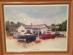 Antique Truck Collector Print