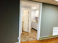renovated 1 bedroom suite available immediately