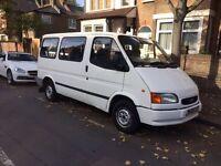 W REG FORD TRANSIT 9 SEATER MINIBUS VAN TAX & MOT £695 ONO