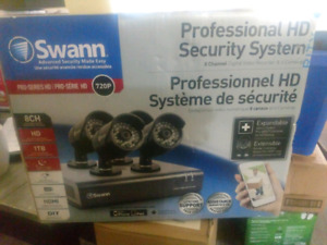 Swan professional HD Security system