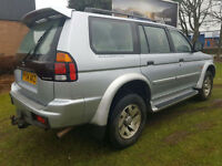 Mitsubishi Shogun Sport 2.5TD Equippe PX Swap Anything considered