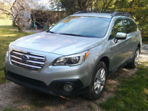 2916 Subaru Outback 2.5L with pzev option pkg