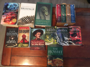 Lord of the Rings/Game of Thrones/Eragon books for sale