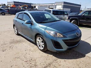 2010 Mazda 3 Sport, Hatch, auto, leather, NAVIGATION, 150,000 km
