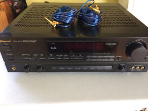 sherwood stereo receiver rv-5030r mission speakers