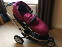 Mothercare Xpedior Pram and baby seat