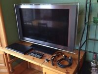 "40"" Sony Bravia Full HD TV & DVD Player"
