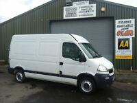 Vauxhall Movano 2.5CDTI 16v ( 120ps ) MWB 3300 High Roof **DIRECT FIRE SERVICE**