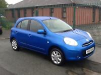 Nissan Micra 1.2 12v ( 79bhp ) ( 2011 ) Acenta FINANCE AVAILABLE