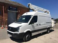 14/14 VOLKSWAGEN CRAFTER CR50 CPL V13 ACCESS PLATFORM CHERRY PICKER MEWP