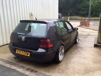 2003 VW Golf 1.6 with 1.8T Engine Conversion, Air Ride, Modified, Show car