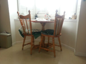 Wonderful Oak Kitchen Table And Chairs