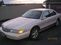 1996 Lincoln Continental spinniker edition Sedan