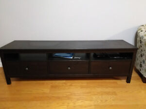 TV Table with 3 Drawers