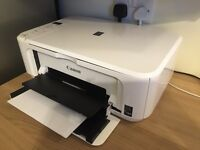 SOLD - Canon PIXMA MG3150 Compact All-In-One with Wi-Fi and Auto Duplex Print (White)