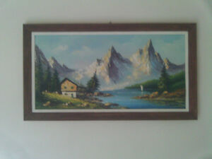 Jacques Delvaux Oil Painting Original
