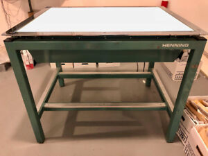 Henning Light Table - Great condition!
