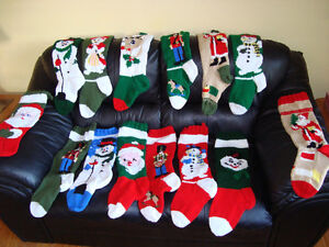 2018 Personalized knitted Christmas stockings