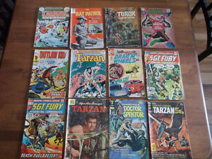 COLLECTION OF OLD COMICS