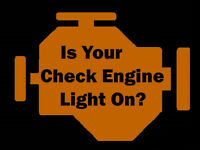 IS YOUR CHECK ENGINE LIGHT ON? OR ANY OTHER SERVICE LIGHTS ON?