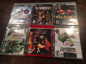 PS3 Games for Sale - $20 for all of them!