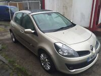 RENAULT CLIO 1.6 PRIVILEGE VVT LOW MILEAGE FULL MOT FIRST TO SEE WILL BUY