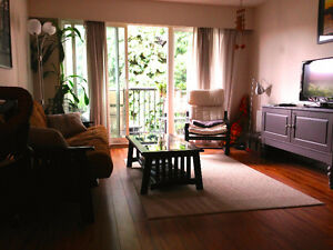 Bright large 1 bedroom on Main and Broadway, flexible rental