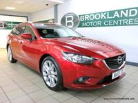Mazda 6 2.2d TOURER SPORT 175PS Auto [6X MAZDA SERVICES, SAT NAV, LEATHER, HEATE