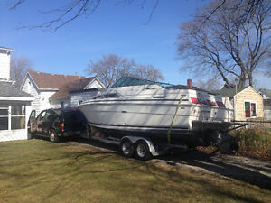 Parting out 1985 Sea Ray Sundancer Parting 260DA