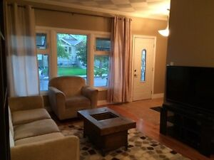 2 bedroom fully furnished upstairs suite