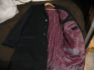 Ted Baker Wool and Cashmere Overcoat-Brand New/Never Worn.