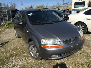 2007 Pontiac Wave 5 Hatchback