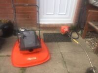 Petrol flymo lawnmower and Strimmer £100