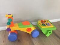 Tomy Convertible walker and ride on