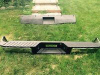 Ford F-150 rear bumper 2004-2009 and universal roll pan