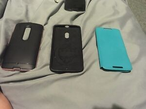 Moto x play with 3 cases
