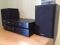 Tibo Audio amplifier and cd player