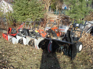 Yardworks. Craftsman snowblowers. Accepting offers