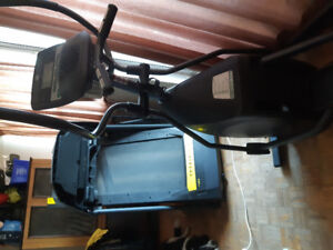 Live strong treadmill n elliptical trainer for sale