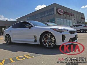 2018 Kia Stinger GT LTD | Red Interior | Lowering Springs & Borl