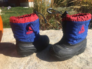 Kamik winter boots. Toddler size 7
