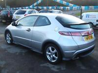 2010 Honda Civic 1.4 i-VTEC Type S 3d **50k / NEW MOT**