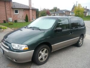 Mini Van Nissan Quest  $1000  OBO Cheap Need Gone
